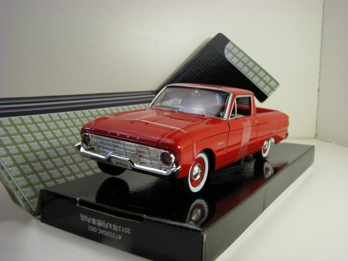 Ford Ranchero 1960 Pick Up Red 1:24 Motor Max